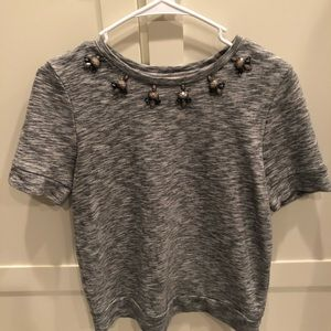 LOFT Tops - Sweater with adorable button details